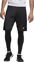 adidas Condivo 18 2 In 1 Mens Football Shorts - Black
