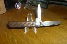 "1901-1909 Armstrong Cutlery Co., Germany, 2-3/4"" Closed 2 Bladed Swell End Jack"