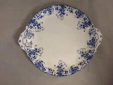 Royal Albert Dainty Blue Round Handled Cake Plate