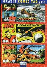 Gratis Comic Tag 2013 HRW Wäscher Nick Tibor Sigurd Piccolo Großband GB