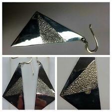 grande orecchini d'argent 925er in argento accessori chiusura a farfalla