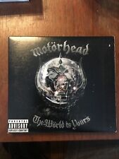 Motorhead - The World Is Yours CD + DVD 2006