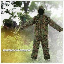 Hunting Camouflage Ghillie Sniper Suit Paintball Army Military Thermal Infrared