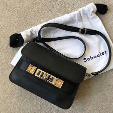 Proenza Schouler PS11 Mini Classic Black Calf Shoulder Crossbody Bag $1675