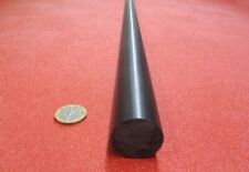 "30766B DELRIN 1 1//2/"" DIA 8/"" LONG ROD BLACK FOR SALE"