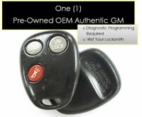 02 03 04 SATURN VUE KEYLESS REMOTE KEY clicker control transmitter vehicle alarm