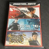 Martial Arts Triple Feature (DVD) - 3 Hit Movies - Jet Li - Kung Fu Combo