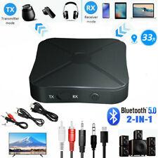 Bluetooth 5.0 Empfänger Transmitter Sender Receiver Stereo Audio Musik Adapter.