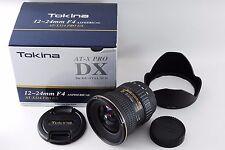 Excellent+++ Tokina AT-X Pro DX 12-24mm F4 AF Lens for Nikon from Japan #944