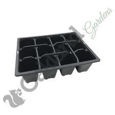 20 Cella 1//2 taglia in plastica VASSOIO per Semi inserisce scegli tra 5 VASSOIO per Semi inserisce fino a