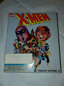 X-MEN Vintage Computer Game Software Paragon 1989 Madness in Murder World