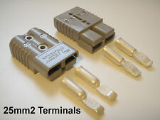 PAIR 175 AMP ANDERSON CONNECTOR PLUGS 25mm CABLE TERMINALS GINETTA G 50 55 40 20