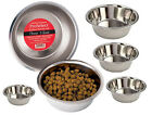 Stainless Steel Dog Bowl, USA Seller, 6 sizes High-Gloss Pet Food Water Dish Cat