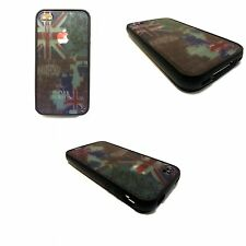 CASE FOR APPLE IPHONE 4/ 4S UNION JACK AND LONDON PRINT HARD BACK COVER