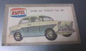 1958 STANDARD PENNANT  Australian AMPOL Oil Swap Card