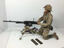 1/6 TWISTING TOYZ ITALIAN 28th PAVIA RGMT MACHINE GUNNER EL ALAMEIN WW2 BBI DID