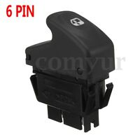 6 PINS Electric Master Window Control Switch For Renault Clio II Megane I  /