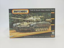 SDG Matchbox 40183 T-80 Soviet Main Battle Tank 1/72 Scale Model Kit NEW