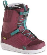 Chaussures de neige rouges