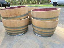 Half Wine Barrels.