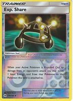 POKEMON SUN & MOON CARD: EXP. SHARE - 118/149 - REVERSE HOLO