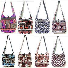 WHOLESALE SAVINGS DEAL 10 PCS Bohemian Hippy Indian Banjara Bags Crossbody Bags
