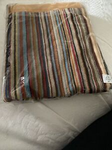 BNWT Paul Smith Signature Multi Stripe Medium Beach Bath Towel