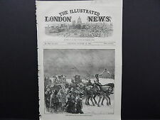 Illustrated London News Cover S7#12 Jan 1871 French Prisoners Etampes To Orleans