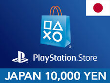 [PSN CARD] PlayStation Network Store Code 10000 Yen / from JAPAN