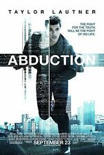 ABDUCTION - Movie Poster - Flyer - 13.5x20 - TAYLOR LAUTNER