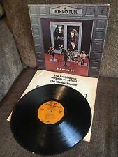 JETHRO TULL Benefit 1970 Chrysalis LP RS 6400 VG+/EXC- w/sleeve