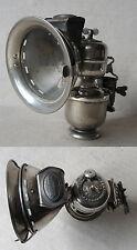 ANTIQUE GERMAN CARBIDE ACETYLENE BIKE LAMP RADSONNE