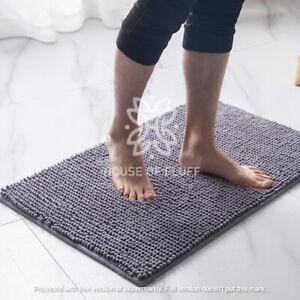 2 Piece Loop Bath Mat Ultra Soft Bathroom Rug Anti Slip Toilet Rug Pedestal Set