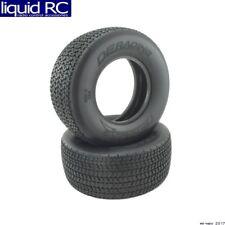 DE Racing -G6G-SR4 Grooved G6t D40 Compound Sc Oval Tire / No Foam / 2 Pieces.