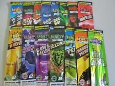 6 x Variety Packs Juicy Jays Flavored Double Blunt Wraps Cigar Rolling Paper