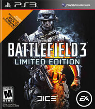 Battlefield 3 Limited Edition Sony PlayStation 3 Ps3 Game