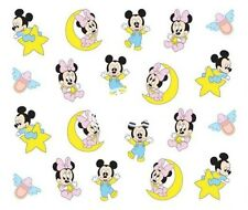 Nail Art Decals Transfers Stickers Baby Mickey Minnie Mouse (A-365)