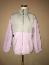 the north face Denali Polartec Light Purple Gray Youth Xl jacket ,women's S, M