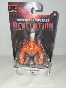 RARE!  TYPO! Masters Of The Universe Revelation Eternia Mini's BEAST MAN / FISTO