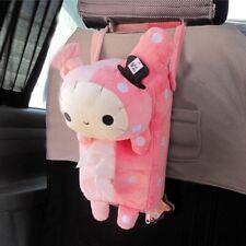Cute Pink Soft Plush Master Rabbit Tissue Box Cover For Car