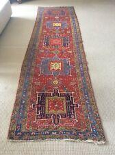 Vintage Antique Oriental Runner 12' x 2'-10� Rug Appraisal Early 20th Century