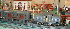 LIONEL STANDARD SET 10E & PASSENGER CARS. VERY GOOD.
