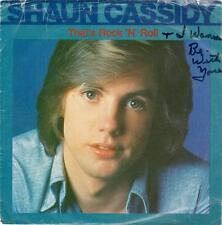 45rpm Shaun Cassidy THAT'S ROCK 'N' ROLL / I WANNA BE WITH YOU WB 8423 1983