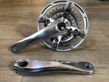 Polished Shimano XTR FC-M960 Crankset - Custom Bash Ring, New Rings - 175mm