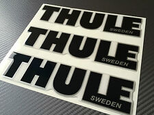 Thule decals, stickers, 3D domed hight quality made, adhesive graphic, repairing