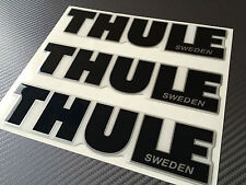 Thule Aufkleber, 3D gewölbte Höhe Qualität gemacht, selbstklebende Grafik, Repar