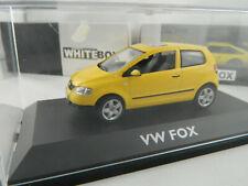Schuco  1:43 #  04722 # VW FOX  gelb
