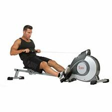 Sunny Health & Fitness SF-RW5515 Magnetic Rowing Machine Rower w/LCD