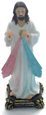 "J2#  OUR LORD JESUS CHRIST Figure 8""(20cm)Resin  Statue Sacred Heart of Jesus"