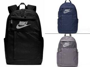 Nike Mens ELEMENTAL 2.0 LBR Backpack School Bag Gym Training Sports Travel Bag
